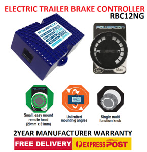ELECTRIC TRAILER BRAKE CONTROLLER RBC12NG - Compact & Easy Install - EXPRESS