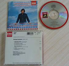 CD GERSHWIN CONCERTO RHAPSODY IN BLUE AN AMERICAN IN PARIS PREVIN ANDRE 1986