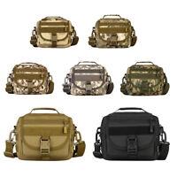 Outdoor Tactical Nylon Shoulder Laptop Messenger Bag Briefcase Handbag Small