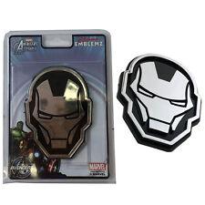 New Avengers Iron Man 3-D Chrome Plastic Auto Car Truck Emblem Decal Sticker