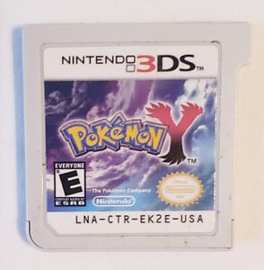 POKEMON Y NINTENDO 3DS 2DS GAME CARTRIDGE WORKS GREAT