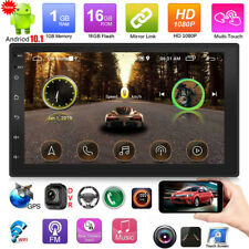 Double Din Android Car Stereo Head unit Radio GPS Sat Nav WiFi USB FM MP5 Player