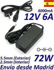 Cargador Corriente 12V 6A 72W LCD ADP-15HB AC501 PL120 610A