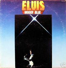 """ELVIS PRESLEY """"MOODY BLUE"""" LP 1977 STEREO EXC!!"""