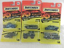 Matchbox Military Vehicles - Lot of 6 - New!