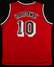 827642f0c Tim Hardaway Signed Miami Heat Adidas Red Home Jersey (JSA COA) 5×NBA