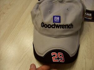 GM KEVIN HARVICK'S NUMBER 29 GOODWRENCH HAT - NEW WITH TAGS