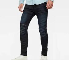 G Star Raw 5620 3D Zip Knee Super Slim Jeans Mens Blue Size W36 L36 *REF11-17