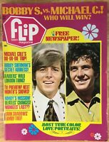 Vintage FLIP MAGAZINE - TEEN IDOL MAGAZINE - Oct. 1969 - Bobby Sherman - BEATLES
