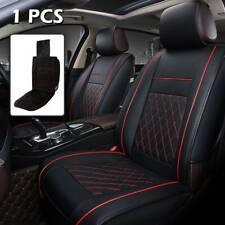 Coprisedili per Auto Anteriori Universali Pelle impermeabile Nere + Rossa Linea