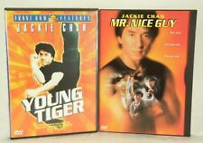 2 DVD's: Mr. Nice Guy & Young Tiger JACKIE CHAN Pre-Owned