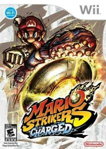 Mario Strikers Charged - Nintendo  Wii Game