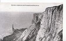 Sussex Postcard - Beachy Head & Light House - Eastbourne    XX846