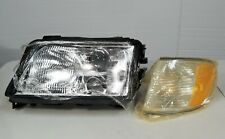 95-98 Audi A6 S6 Left Driver Side LH LF Headlight Assy w/ Side Corner Light