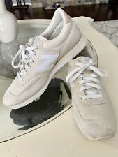 New Balance Womens Size 8.5 Running CW 620 NFA White Shoes Pre Owned