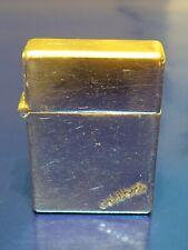 More details for vintage chunky colibri petrol pocket cigarette lighter with windblock made in uk