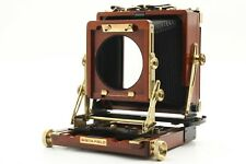 【 MINT 】 Wista Field DX 45 4x5 Rose Wood Large Format Camera Body From JAPAN 296