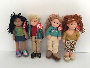 Teenie Beanie Boppers - Jazzy Jessie, Rugged Rusty, Cool Cassidy, Trendy Tracy