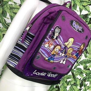 Retro 2003 Bratz Book Bag Y2K 2000s Lookin' Good Stylish Fashion Backpack