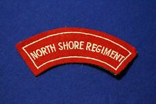 Original Australian...North Shore Regiment cloth shoulder title patch