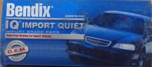 NEW BENDIX IQ IMPORT QUIET REAR BRAKE PADS MKD408IQ / D408 FITS 88-89 XJ6