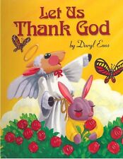 """Children's Personalized Book, """"Let Us Thank God"""", Gift for Christening, Birthday"""