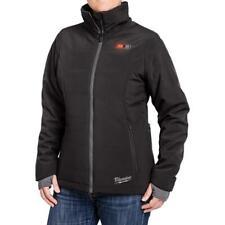 Women's Medium Black Heated Jacket Kit 12-Volt Lithium-Ion Cordless Warm Coat