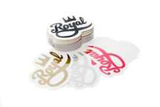 """Royal Skateboards Logo 4"""" Stickers 10 Pack various colours"""