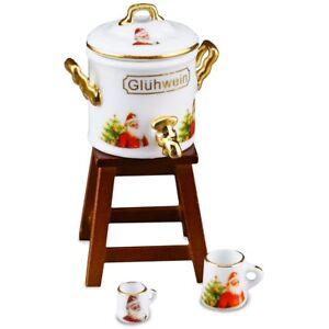 Reutter Porzellan Glühweintopf Glühwein Pot Puppenstube 1:12 Art 1.634/6