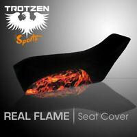 Yamaha YFM 450 Wolverine 2006 Real Flame Seat Cover #TTS1717SEP1717