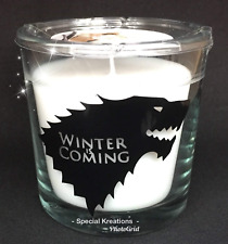 Game of Thrones Candle. Birthday. Fathers Day. Friendship. Anniversary