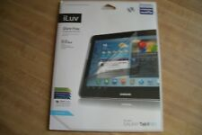 """2 -films i Luv Glare-Free Protective Film kit for GALAXY Tab 2 10.1"""", NEW"""