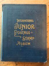 Scott International Junior Postage Stamp Album W/ Over 1200 Stamps, 1933 Edition