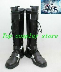 Captain America 2 Winter Soldier Cosplay Boots shoes shoe  Halloween