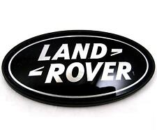 Land Rover Defender steering wheel badge upgrade black+Silver Oval badge SVX new