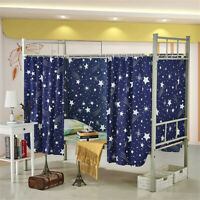 Dormitory Bunk Single Bed Tent Curtain Cloth Cover Dustproof Student School New