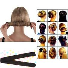 Fashion WomenMagic DIY Hair Style French Twist Donut Foam Former Tool Bun Maker