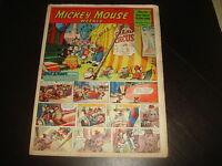 MICKEY MOUSE WEEKLY January 20th 1951  UK Disney Comic