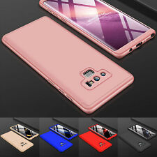 For Samsung Galaxy Note 10 / 9 360° Full Body Hard Case +Screen Protector Cover