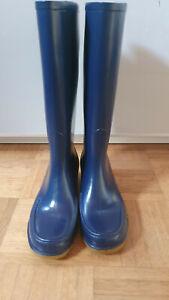Gummistiefel mit Absatz High Heels Boots Stiefel Elbit RAR Vintage