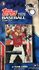 American League All Star Standouts 2020 Topps Factory Team Set Trout Judge PLUS
