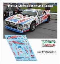 DECALS 1/43 LANCIA 037 BIANCHINI RALLY LEGEND 2020