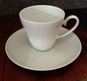 Rosenthal Romanze weiß- Design B. Wiinblad- Mokkatasse Espressotasse mit Untere