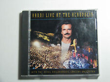 Yanni Live At The ACROPOLIS CD 1994 Private Music Santorini Reflections Passion