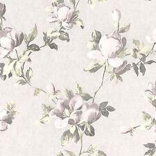 EMILIA ROSE FLORAL WALLPAPER CREAM PINK GOLD - RASCH 502114 FLOWERS