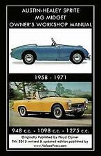 MG MIDGET MARK I II II 1 2 3 MkI MkII Owners Manual Handbook Service Repair Book