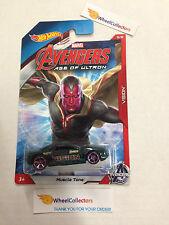Vision * Muscle Tone * Avengers Marvel * 2015 Hot Wheels * Walmart Only * E35