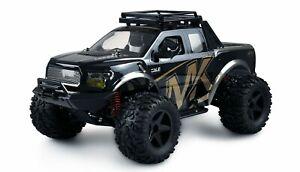 RC Monstertruck Warrior Monster Truck 1:10 RTR schwarz/gold mit Akku