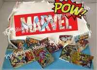 EDIBLE ICING MARVEL SUPER HEROS COMIC BOOK BIRTHDAY CAKE TOPPER