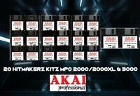 Akai MPC 2000 / 2000XL & 3000, 20 Floppy Disk HitMakerz Drum Kit Sounds&Samples